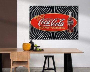 Coca Cola Cold Ice Refreshment Soda Drink