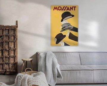 Vintage poster Mossant
