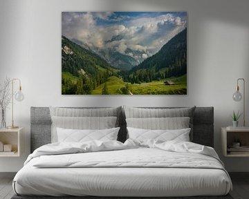 De idyllisch gelegen Bindalm in het Nationaal Park Berchtesgaden van Christian Peters