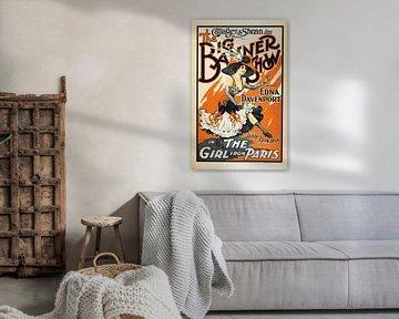 Vintage poster Paris