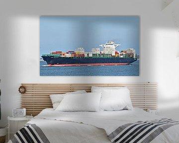 Containerschip UASC UMM Quasr van Piet Kooistra