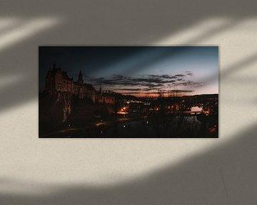 Château de Sigmaringen de nuit