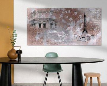 PARIS Collage von Melanie Viola