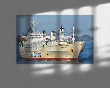 Het koelschip Crown Jade van Piet Kooistra