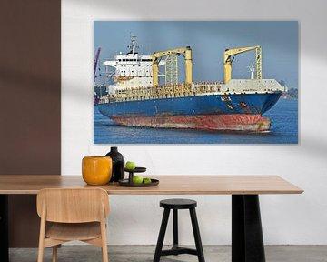 Het containerschip Arica van Piet Kooistra