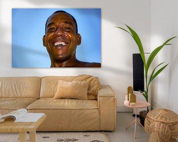 Lachende jonge man van 2BHAPPY4EVER.com photography & digital art