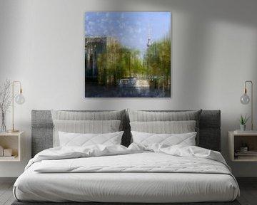 City-Art Berlin River Spree van Melanie Viola