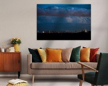 Skyline van Rotterdam van Menno van der Haven