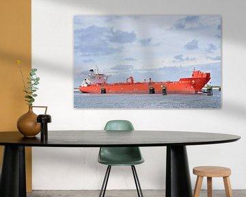 De olietanker PetroAtlantic van Piet Kooistra