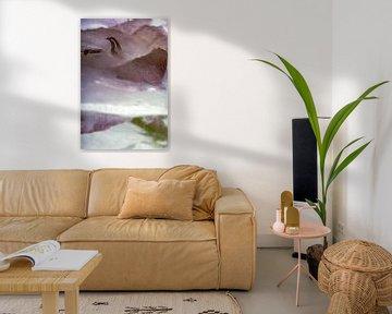 Gladiolus dans la glace 1 sur Marc Heiligenstein