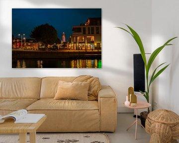 Avond met kleuren in Weert van JM de Jong-Jansen