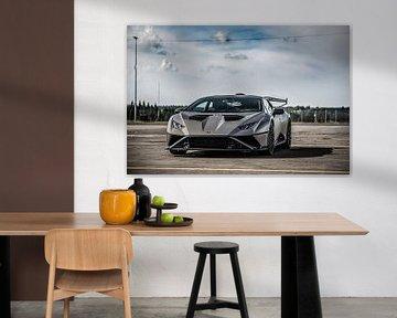 Lamborghini Huracan STO Supercar van Bas Fransen