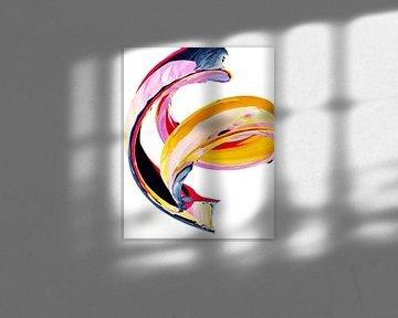 Abstract swirl 001 van De nieuwe meester