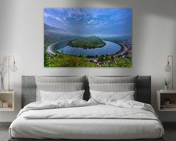 Moselle près de Bremm sur Sander Poppe