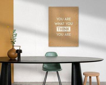 Pensez - Typographie sur MDRN HOME
