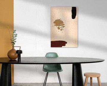 Peinture abstraite sur MDRN HOME