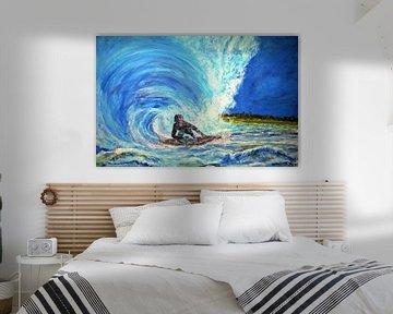 Surfer von Matthias Rehme