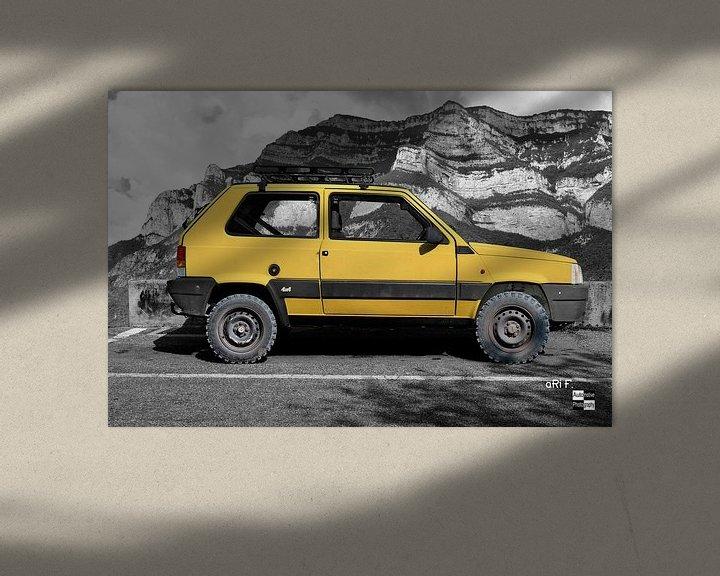 Beispiel: Fiat Panda 4x4 von aRi F. Huber