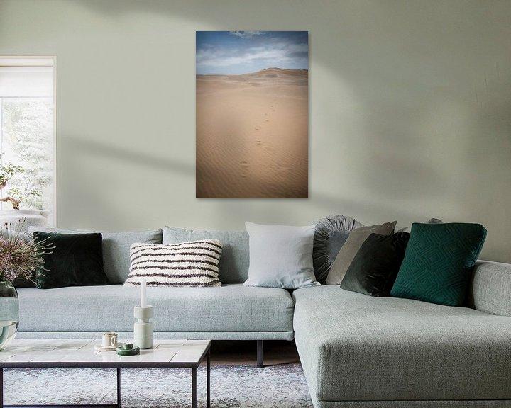 Sfeerimpressie: Voetstappen in het zand van Jille Zuidema