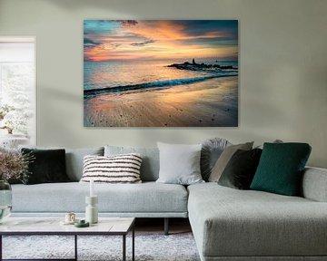 Zonsondergang Ouddorp aan zee