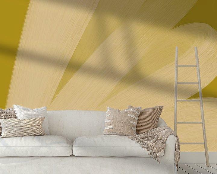 Sfeerimpressie behang: Bright Skies - Workshop van YOPIE illustraties