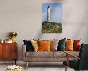 Leuchtturm Lyngvig Fyr, Jütland, Dänemark von Imladris Images