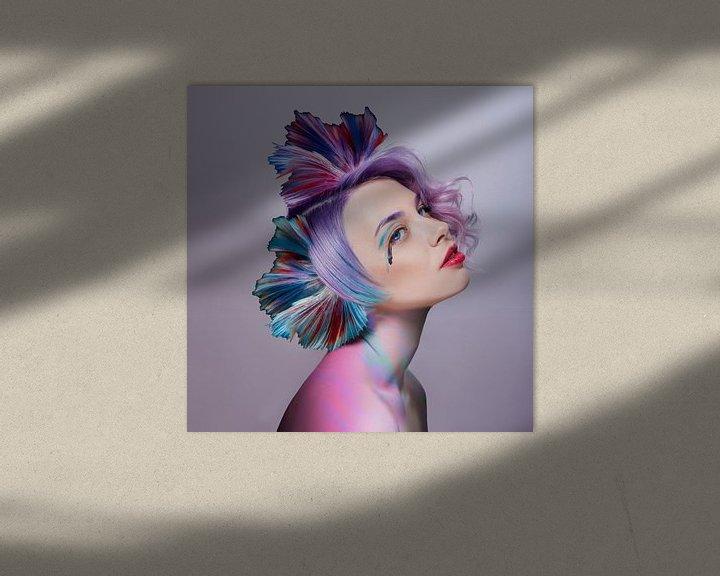 Sfeerimpressie: Het meisje met de fijnste kleuren van OEVER.ART