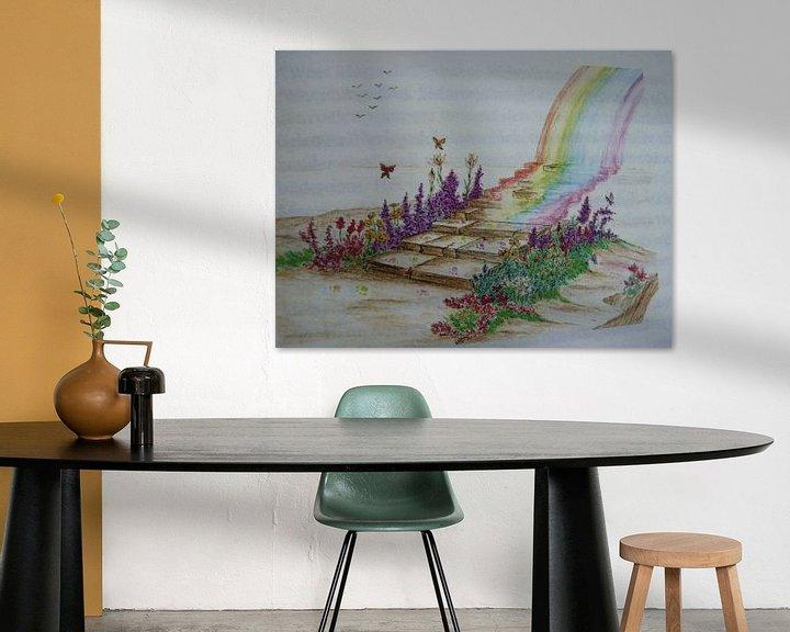 Sfeerimpressie: De regenboogbrug  van Jose Beumers