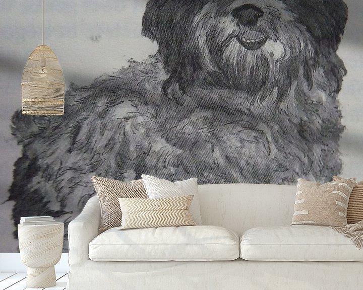 Sfeerimpressie behang: Jazzy van Jose Beumers