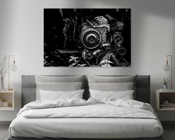 Sfeerimpressie: DEUTZ ENGINE BLACK AND WHITE van SchippersFotografie