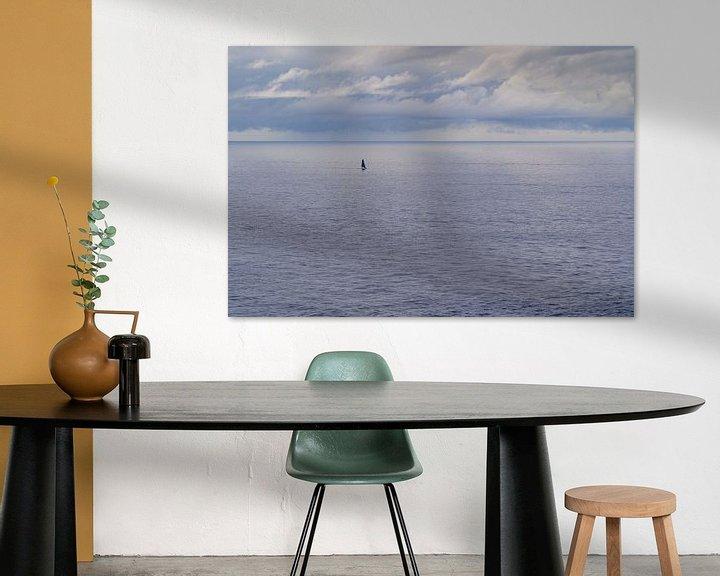 Sfeerimpressie: Zeilboot, alleen op zee van Martijn Joosse