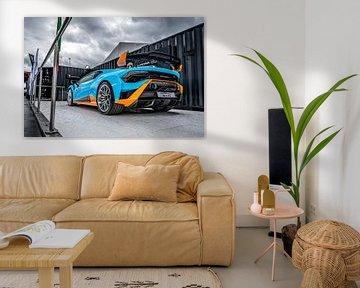 Orange Lamborghini Huracan STO van Bas Fransen