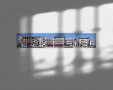 Prag Vodickova Architektur Panorama sur Panorama Streetline