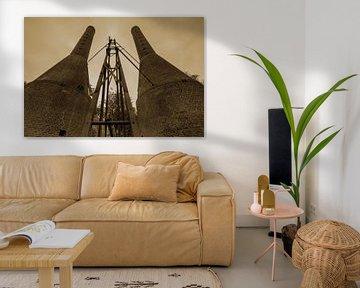 Rijksmonument Kalkovens Dieverbrug van Mario Brussé Fotografie