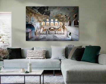 Verlaten Synagoge in Verval. van Roman Robroek