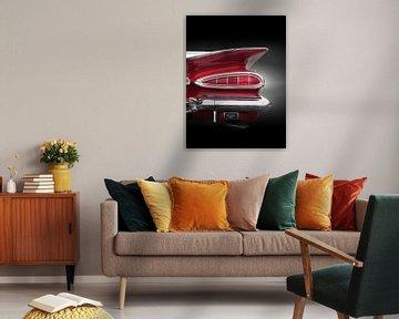 Voiture classique américaine 1959 impala Convertible Nageoire caudale sur Beate Gube