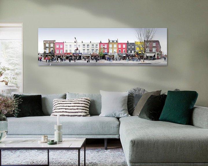 Sfeerimpressie: London Camden Market Panorama van Panorama Streetline
