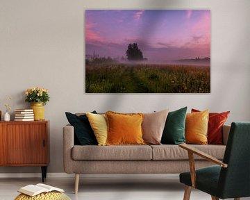 purple tree van Kim Lijnders