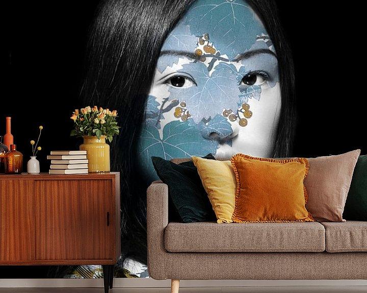 Sfeerimpressie behang: Japan van Marja van den Hurk