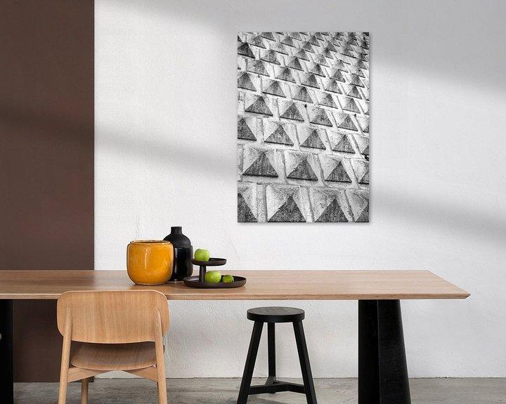Sfeerimpressie: Mini piramide patroon van Monique Tekstra-van Lochem