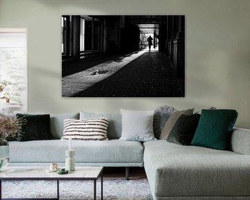 Max Euweplein  straatbeeld in Amsterdam van Ipo Reinhold