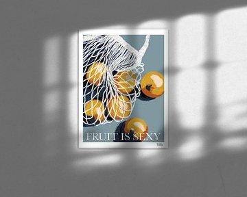 sinaasappel boodschappentas van Studio Carper