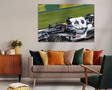 Yuki Tsunoda F1 GP Spa 2021 van Ann Barrois