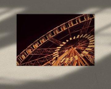 Het grote wiel van Marseille   Lumières de France van Carolina Reina