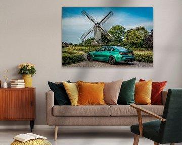 BMW M3 Compétition Isle of Man Green sur Bas Fransen