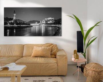 Salzburg in zwart-wit van Henk Meijer Photography