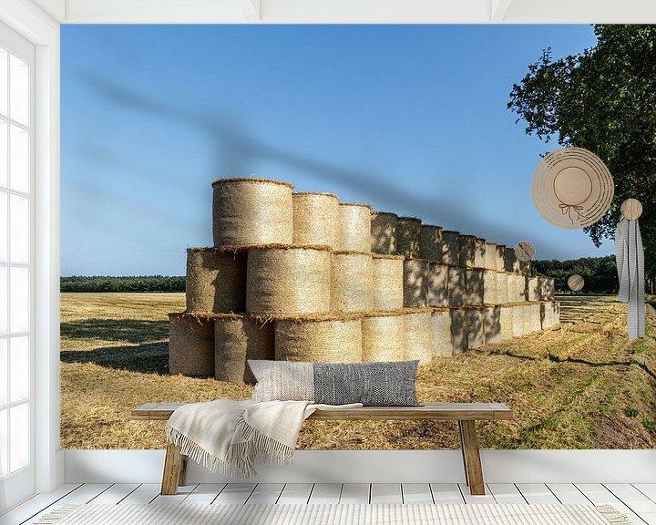 Sfeerimpressie behang: Boerenland van Anjo ten Kate