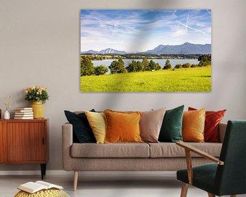 Het meer van Rieg in Beieren van ManfredFotos