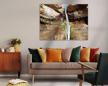 Lower Calf Creek Falls van Renate Knapp