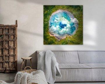 Traumkunst XIX - Surrealer Augensee von Art Design Works